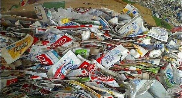Tooth Paste Tubes Recycling & Processing
