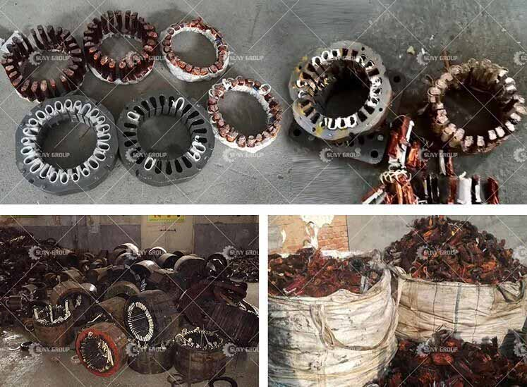 Motor Stator Recycling & Processing