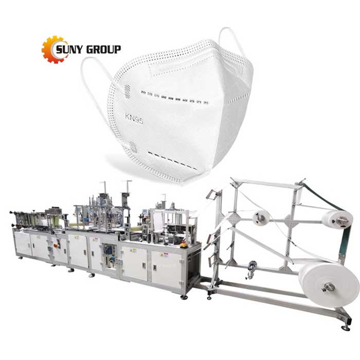 Face Mask Making Machine Automatic N95 Surgical Face Mask Machine