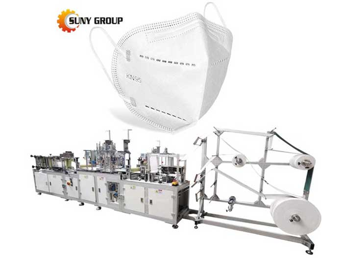 Factory High Speed Automatic N95 Face Mask Making Machine