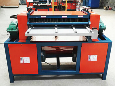 AC Radiator Stripping Machine